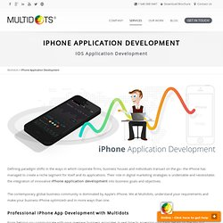 iPhone Application Development, IOS Application Development, iPhone App Development