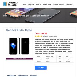 Buy iPhone 7 Plus in Bridgetown