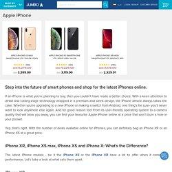 iPhone: Buy iPhone XR, iPhone XS, iPhone X at Best Price in UAE