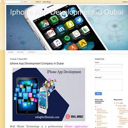 Iphone App Development in Dubai: Iphone App Development Company in Dubai