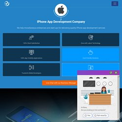 iPhone/iOS App Development Company India