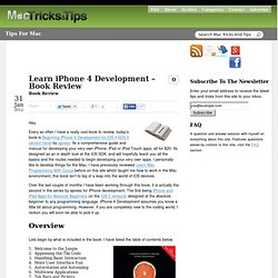 iPhone 4 Development – Book Review