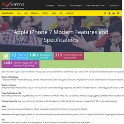 Apple iPhone 7 Modern Features and Specifications