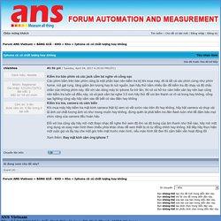 Iphone cũ có chất lượng hay không - Kho - Forum ANS Vietnam