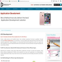 iPhone/iOS App Development, iOS Development