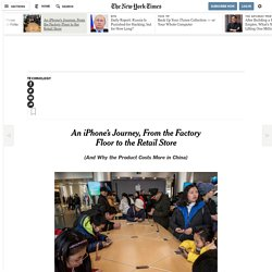 3.4.5 An iPhone's Journey, From the Factory Floor to the Retail Store