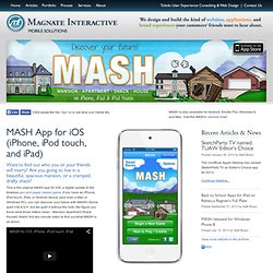MASH Game for iPhone, iPod touch and iPad - What's Your MASH Story? - iPhone Apps - Magnate Interactive