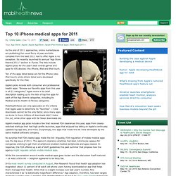Top 10 iPhone medical apps for 2011