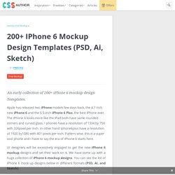 200+ iPhone 6 mockup design Templates (PSD, Ai, Sketch)