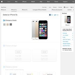 iPhone 5 - Buy iPhone 5 for AT&T, Verizon or Sprint with Free Shipping