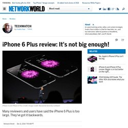 iPhone 6 Plus review: It's not big enough!