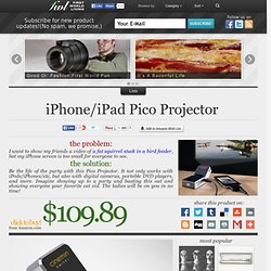 iPhone/iPad Pico Projector