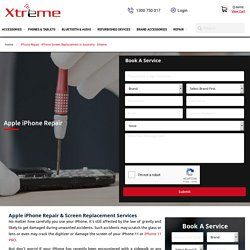 Broke your iPhone X screen? Get it repaired by Xtreme Online