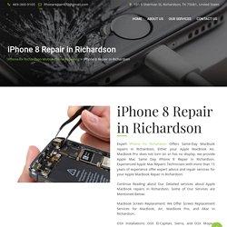 iPhone 8 Repair in Richardson