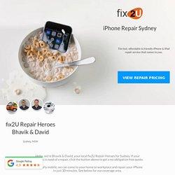 iPhone Repair Sydney - fix2U