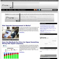 iPhone Alley - iPhone News, iPhone reviews, tips, tricks and forums