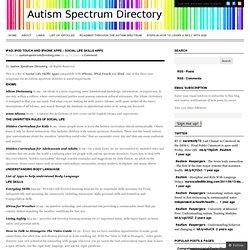 Autism Spectrum Directory
