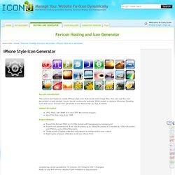 iPhone Style Icon Generator