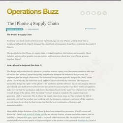 The iPhone 4 Supply Chain