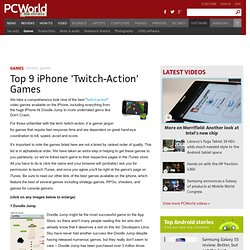 Top 9 iPhone 'Twitch-Action' Games - PCWorld