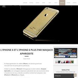 IPhone 6 Et 6 Plus : Version Or 24 Carats Par NavJack