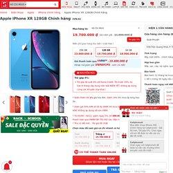 iPhone XR 128GB mã VN/A giảm giá đến 1.3 triệu đồng tại CellphoneS
