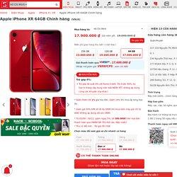 iPhone XR 64GB VN/A - Thu cũ đổi mới, giá tốt nhất, trả góp 0%