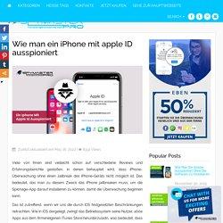 Wie Sie iPhones mit dem Apple-Login ausspähen