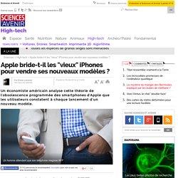 """Apple bride-t-il les """"vieux"""" iPhones pour vendre ses nouveaux modèles ? - 9 septembre 2014"""