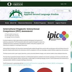 Intercultural Assessment