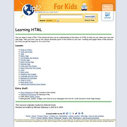 2 Learning HTML