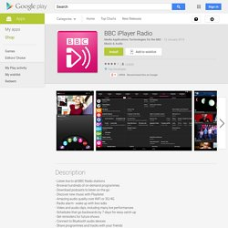 BBC iPlayer Radio – Android Apps on Google Play