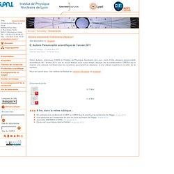 IPNL IN2P3/CNRS - UCBL