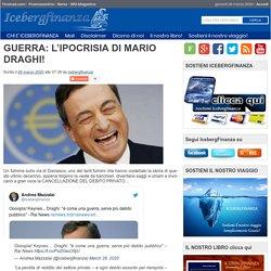 GUERRA: L'IPOCRISIA DI MARIO DRAGHI!