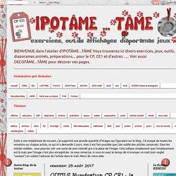 IPOTÂME ....TÂME: OUTILS Numération CP CE1 : la suite numérique