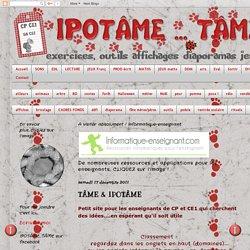 IPOTÂME ....TÂME: TÂME & IPOTÂME