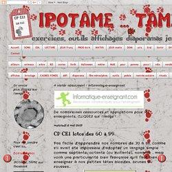IPOTÂME ....TÂME: CP CE1 lotos des 60 à 99