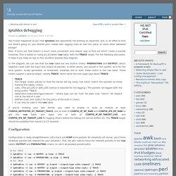 iptables debugging « \1