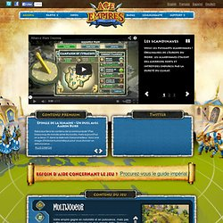 Accueil | Age of Empires Online
