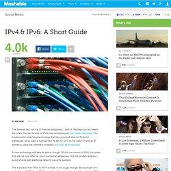 IPv4 & IPv6: A Short Guide