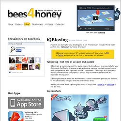 iQBloxing | bees4honey blog