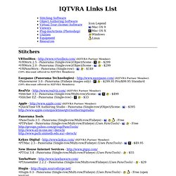 IQTVRA Software/Hardware Links