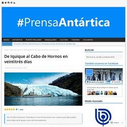 De Iquique al Cabo de Hornos en veintitrés días – Prensa Antártica
