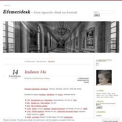 Efemerideak