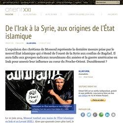 De l'Irak à la Syrie, aux origines de l'État islamique
