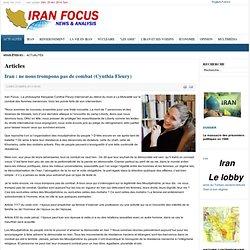 Iran : ne nous trompons pas de combat (Cynthia Fleury)