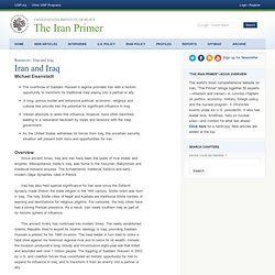 Iran and Iraq | The Iran Primer