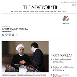 Iran Is Back in Business