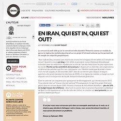 [2010] En Iran, qui est in, qui est out? » Article » OWNI, Digital Journalism