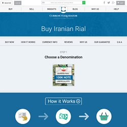 Buy Iranian Rial from the leading Iranian currency dealer